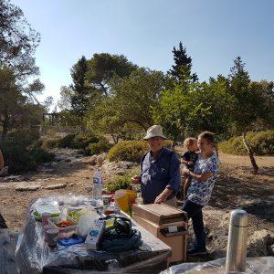 Pique nique en Israël