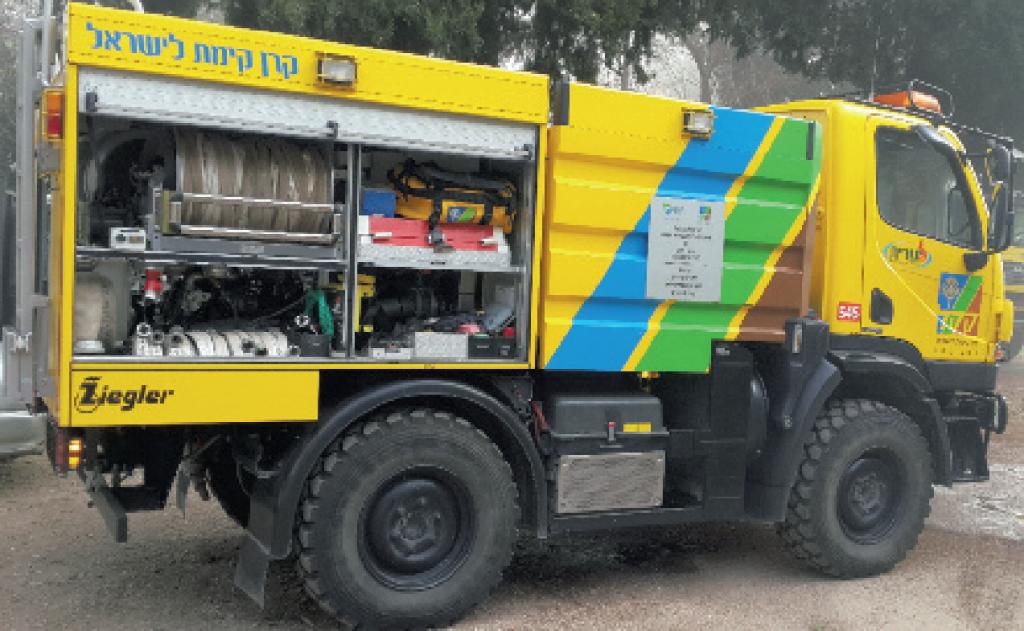 Camion citerne anti-incendie du KKL
