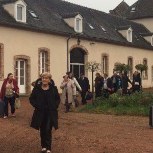 Groupe du club's au château de Chaumont
