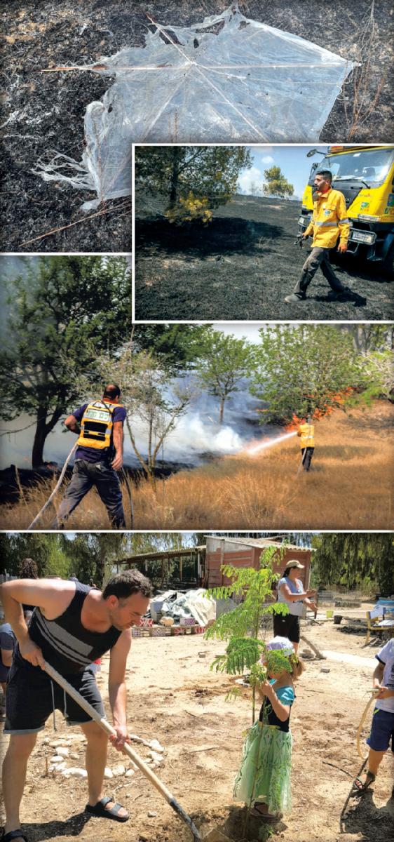 lutte incendies du KKL