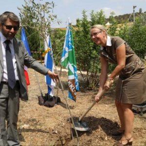 Le rabbin Haïm Korsia et Hélène Le Gal